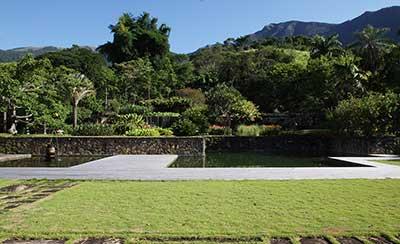 Jardim de Roberto Burle Marx - Fazenda Vargem Grande