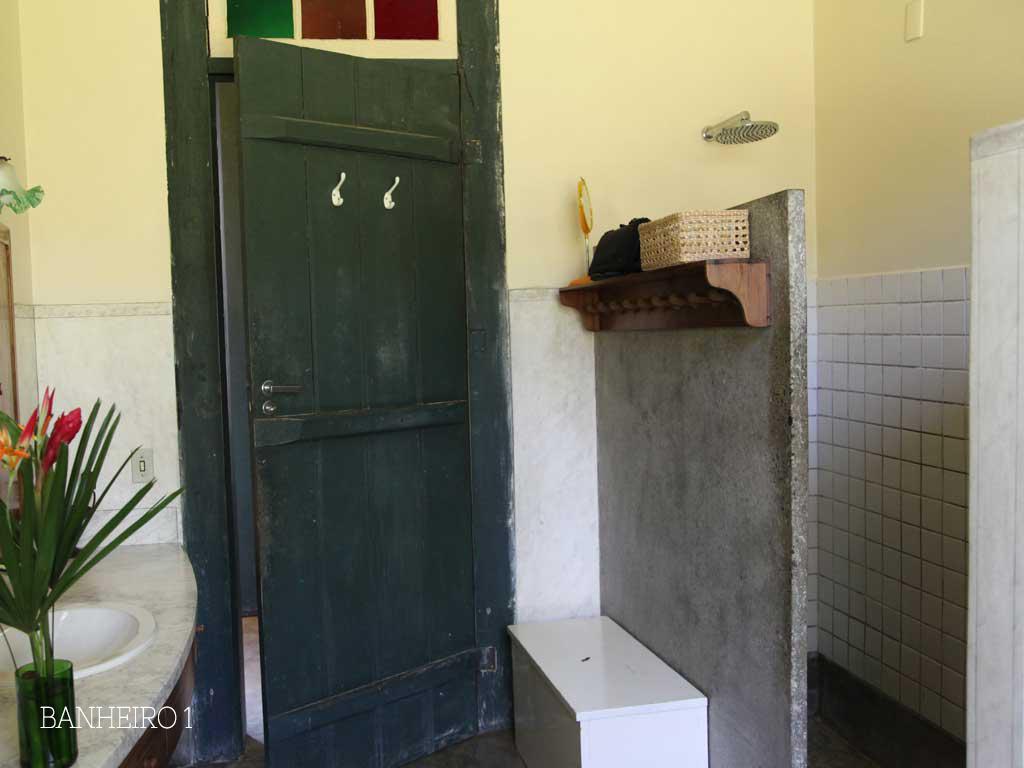 Banheiros - Casarão Fazenda Vargem Grande - Areias-SP