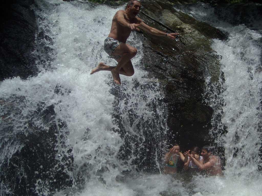 Cachoeira - Piscinas - Fazenda Vargem Grande - Areias-SP