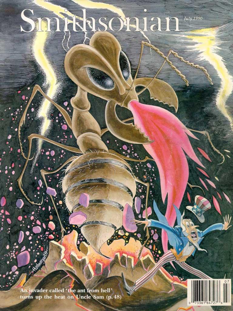 Matéria publicada na revista Smithsonian - Roberto Burle Marx - Fazenda Vargem Grande - Areias/SP