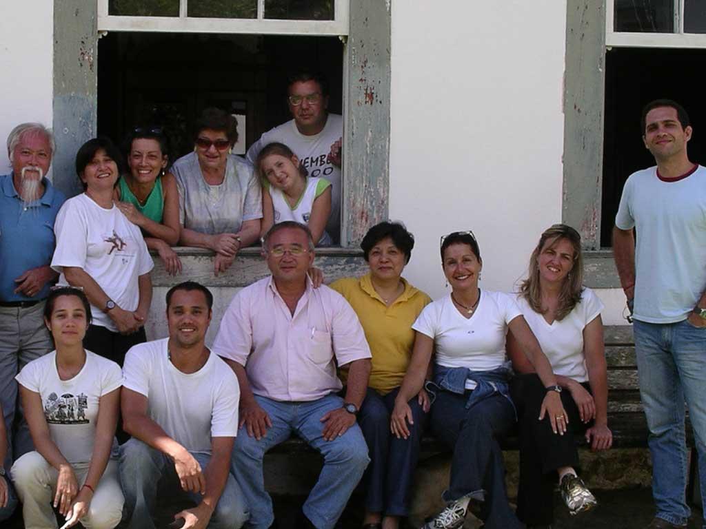 Encontros de Arquitetos Paisagistas na Fazenda Vargem Grande - Areias-SP