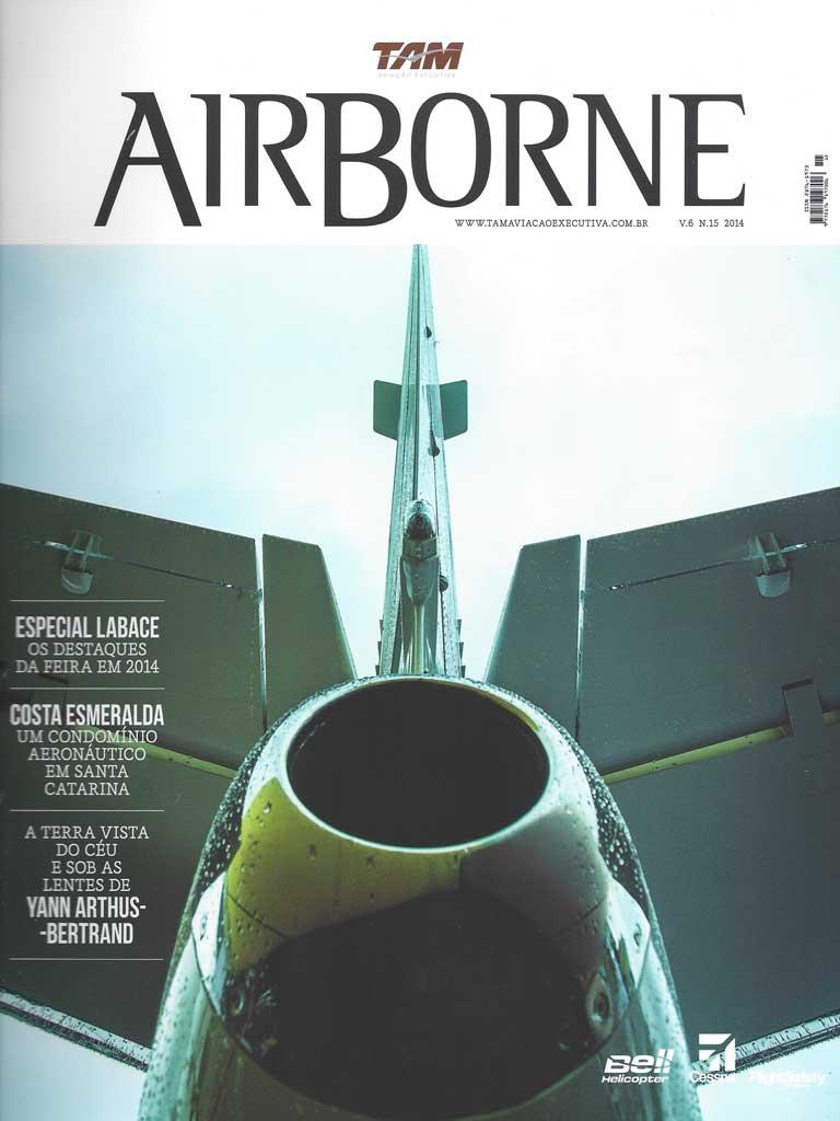 Publicação na revista Airborne sobre a Fazenda Vargem Grande - Areias-SP