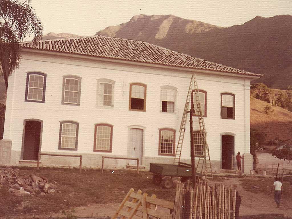 Reforma da casa da Fazenda Vargem Grande - Areias - SP
