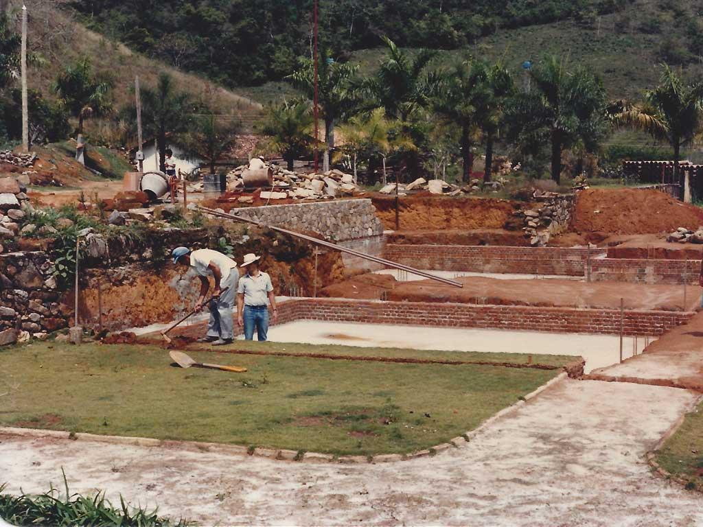 Reforma Jardim da Fazenda Vargem Grande - Areias - SP