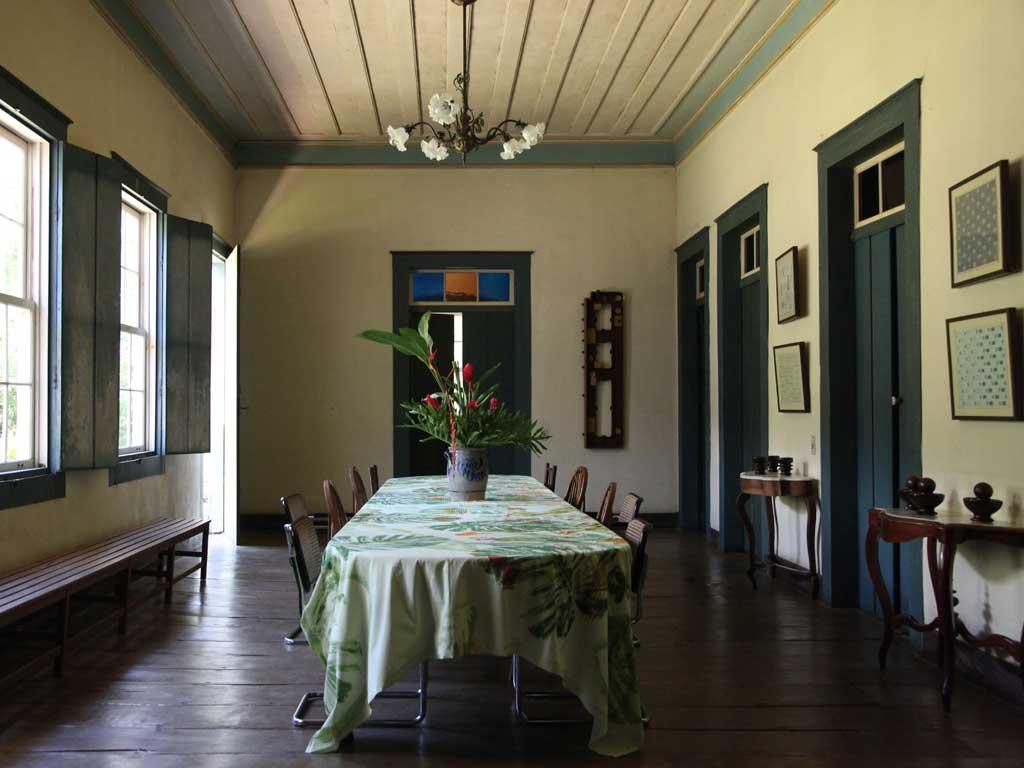 Sala de Jantar - Casarão Fazenda Vargem Grande - Areias-SP