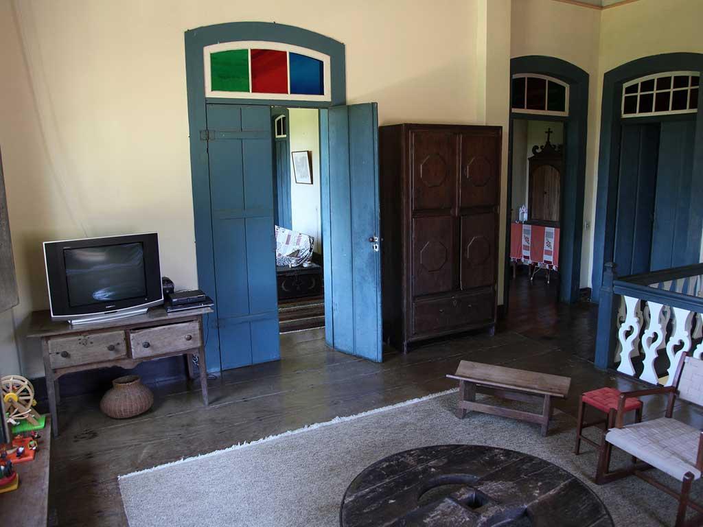 Sala de TV - Casarão Fazenda Vargem Grande - Areias-SP