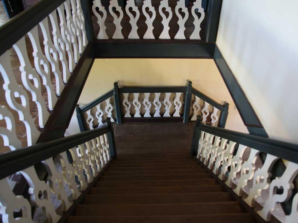 Escadas - Fazenda Vargem Grande - Areia-SP