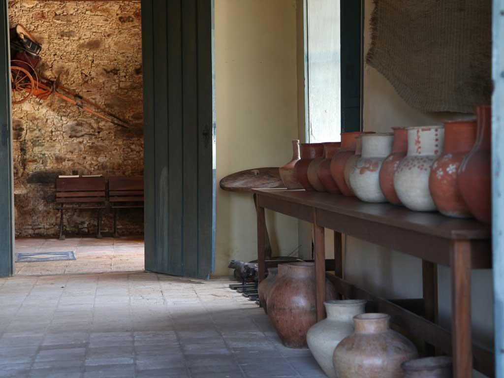 Sala de Vasos - Fazenda Vargem Grande - Areia-SP